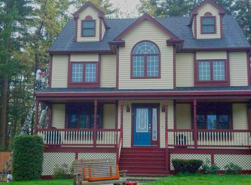 Cooks simple painting photo gallery for Exterior painting wilmington ma