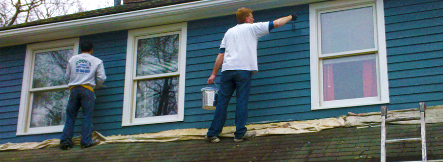 Professional exterior paining boston and beyond Exterior commercial painting